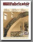 Germantown Iron & Steel's Oconomowoc Residence was featured on the front cover of Fabricator Metal Fabricating News.