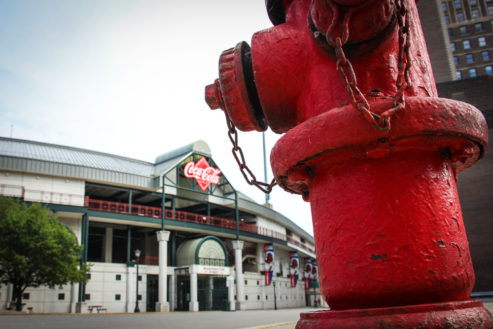 Coca Cola Field.  Home of the Buffalo Bisons baseball team.