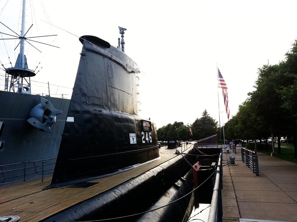 USS Croaker.
