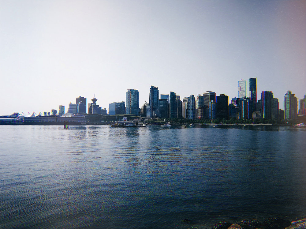 Vancouver on a sunny day...