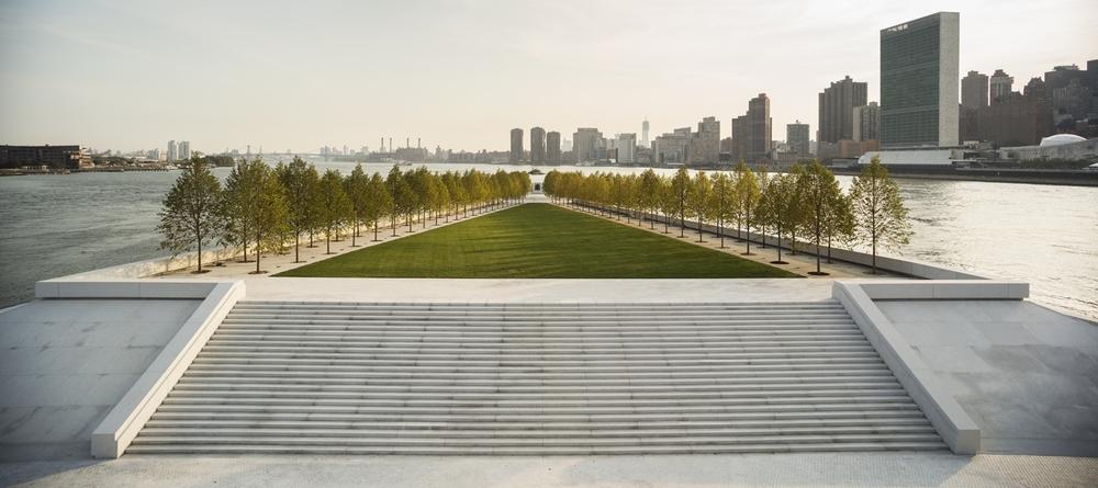 Franklin D. Roosevelt Four Freedoms Park by Louis I. Kahn