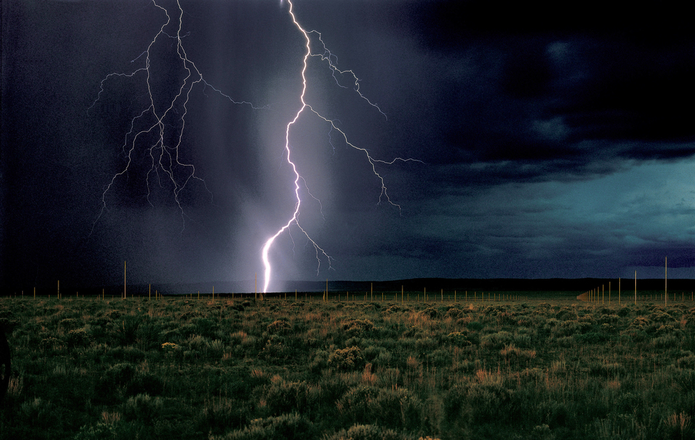 """The Lightning Field"" 1977"