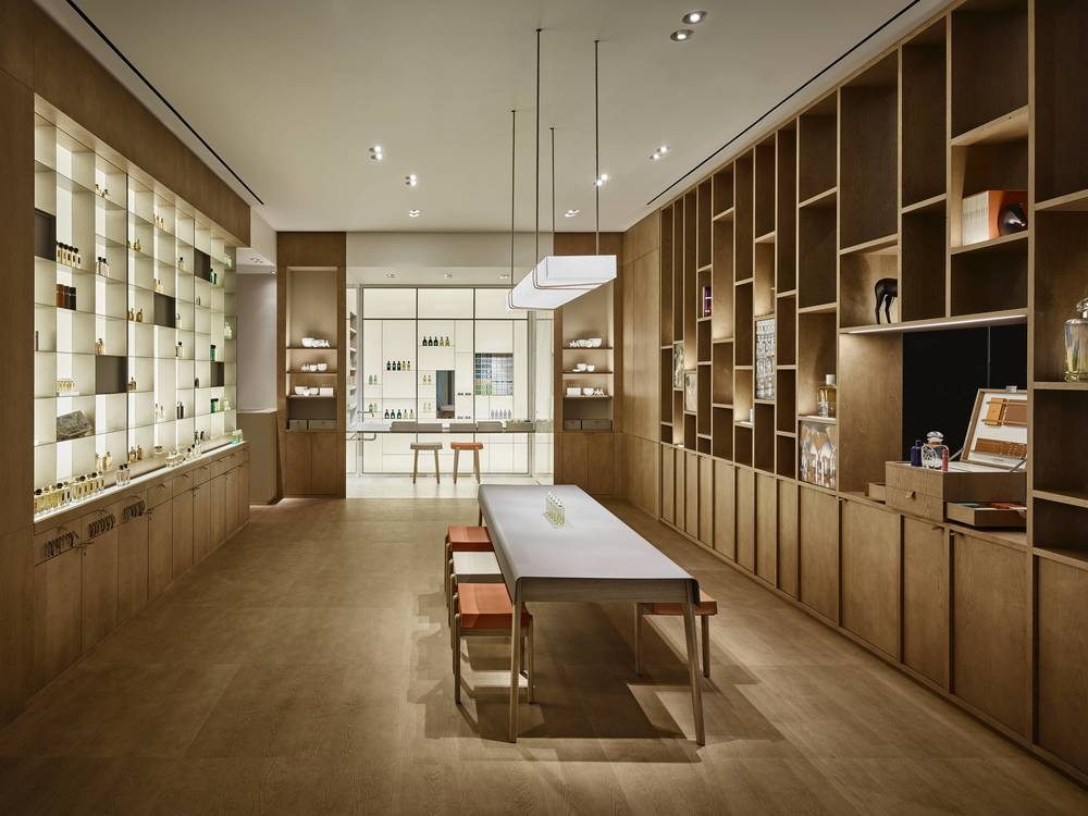 Hermès's new parfumerie is located in Brookfield Place. (Photo: Hermès)