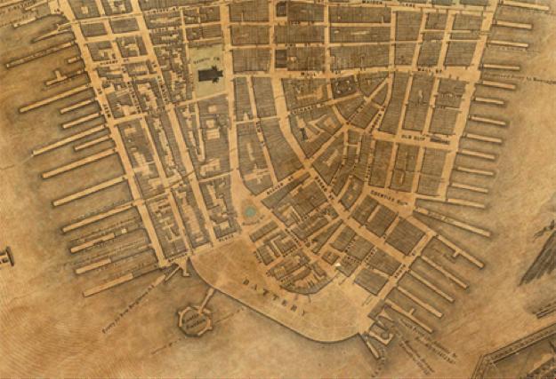Lower Manhattan 1852