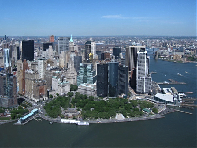 Battery Park present day