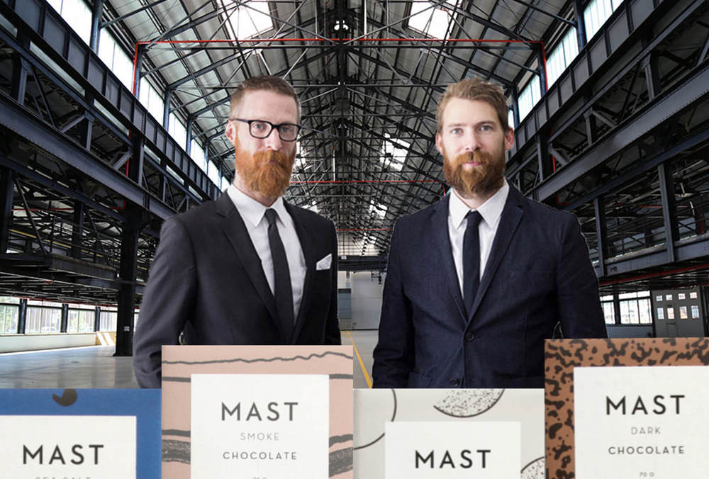 The beloved  Mast Brothers  Chocolatier will be moving into a high volume interior space at the BNY.