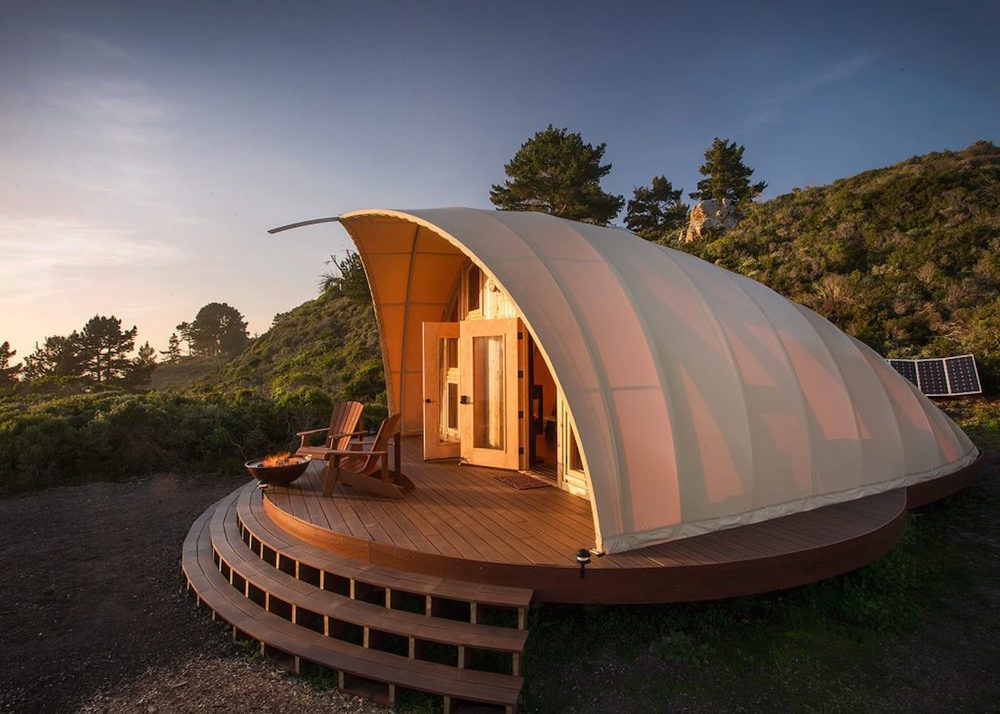 The Autonomous Tent, Luxury off-grid
