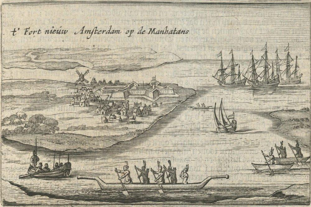 Governor's Island 1600's
