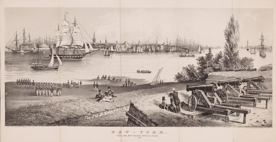 Governor's Island 1860