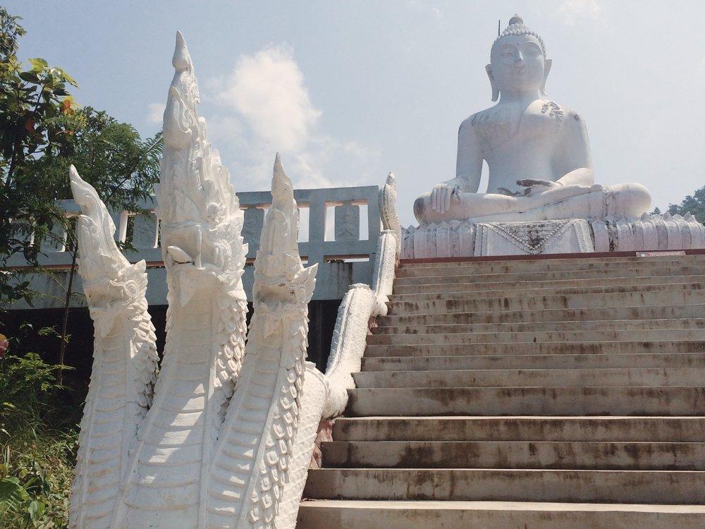 Thailand Pai, White Buddah