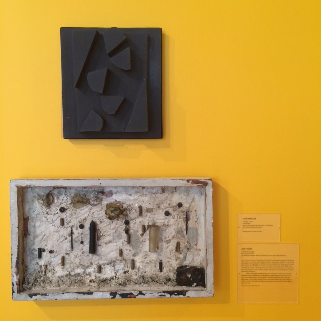 Louise Nevelson (top), Jean Follett (bottom)