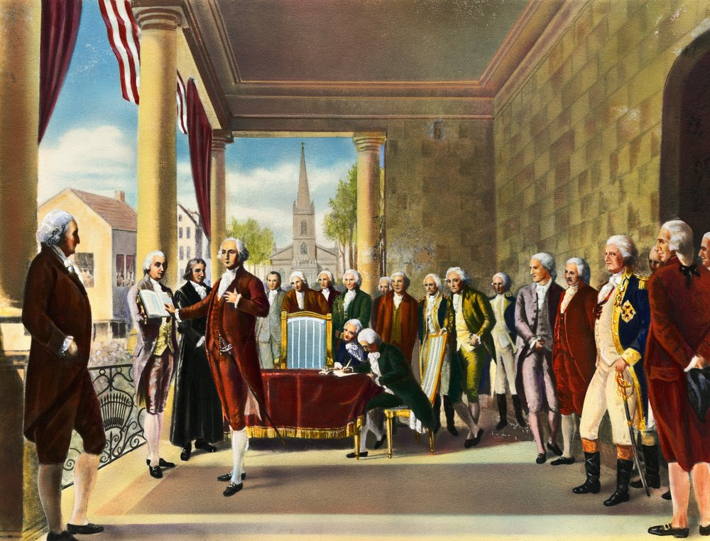 George Washington Inauguration