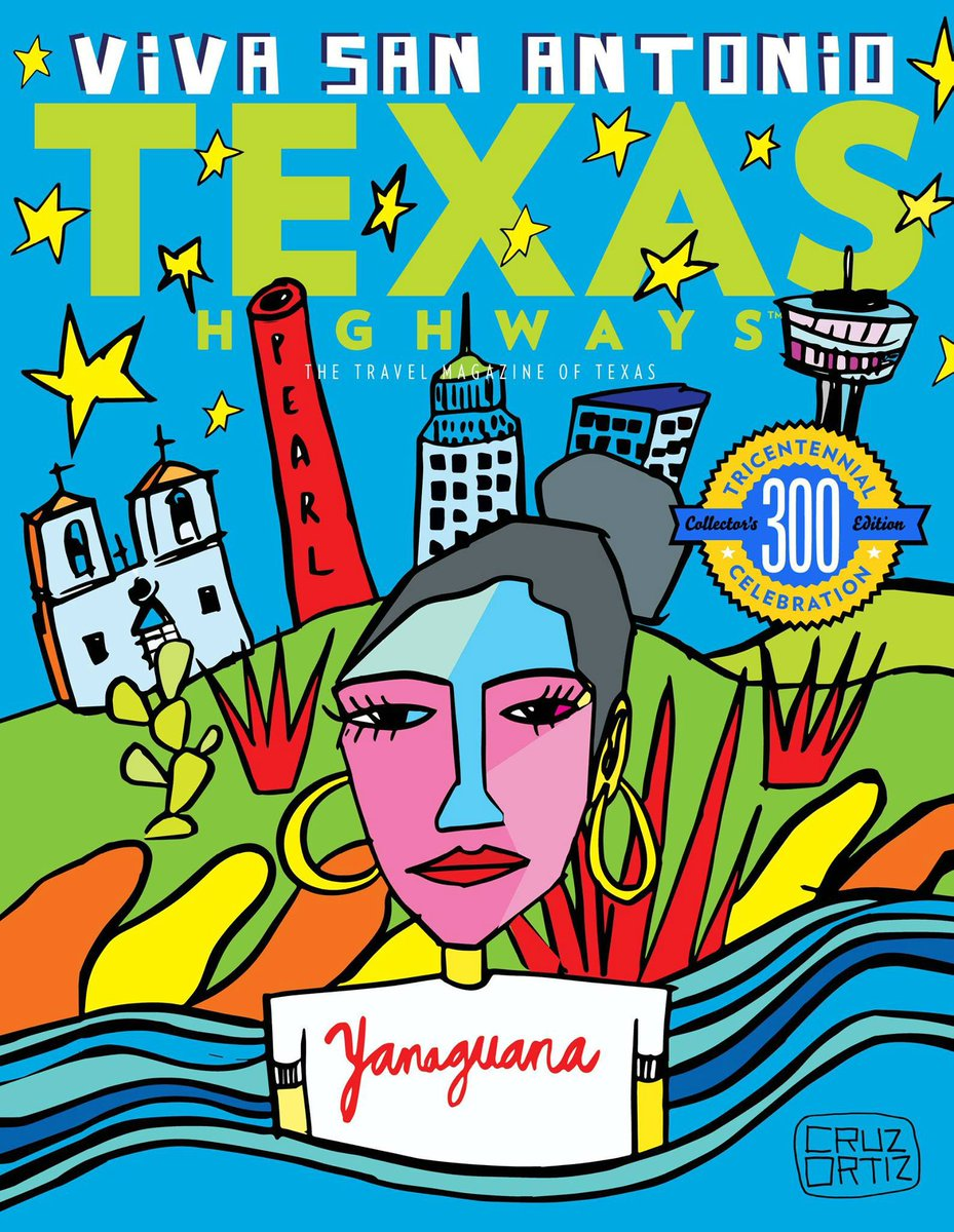 Commemorative Tricentennial Magazine Cover by Local Artist