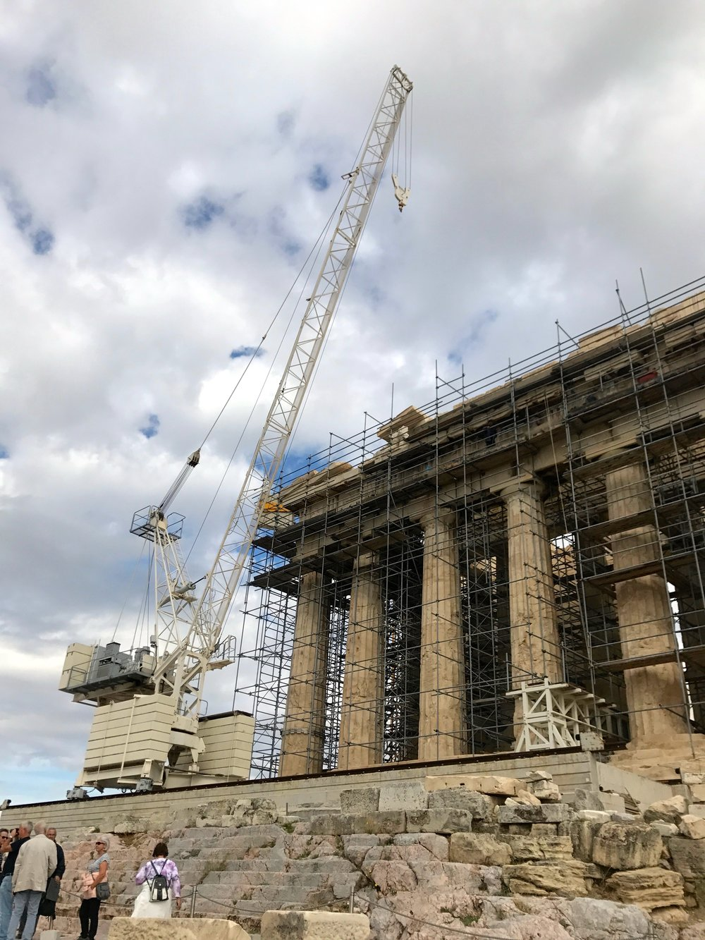 Parthenon Re-Construction.