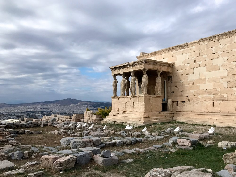 The Erechtheion - Porch of the Carytids