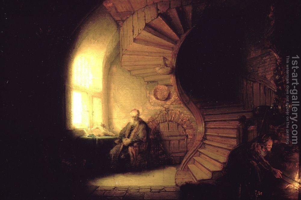 Rembrandt, Philosopher in Meditation 1632