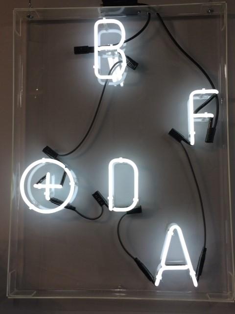 Neon BF+DA Logo