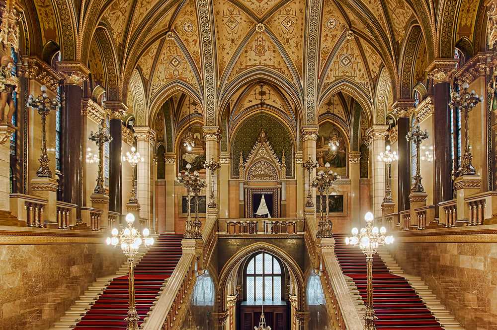 The Parliament Building Staircase Hall