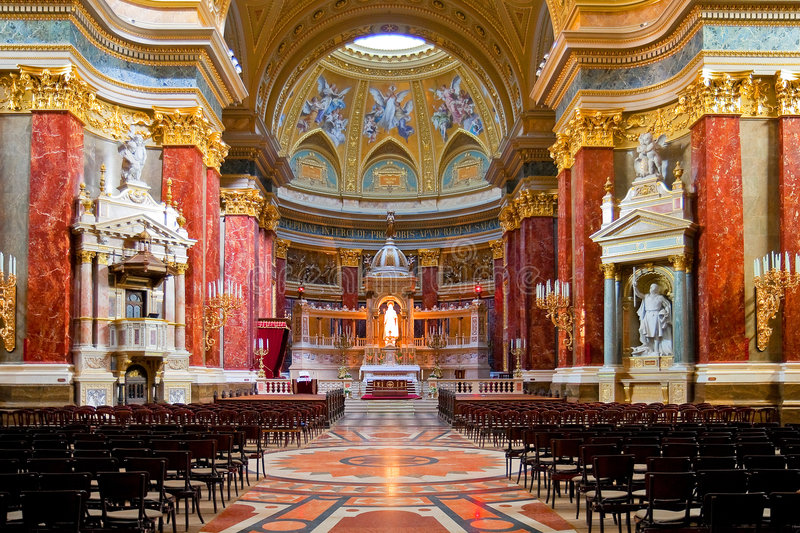 Interior of Stephen's Basilica