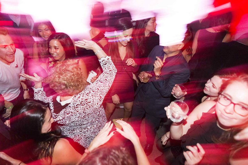 Dancing at a party can be considered an action pattern. (   Photo credit   )