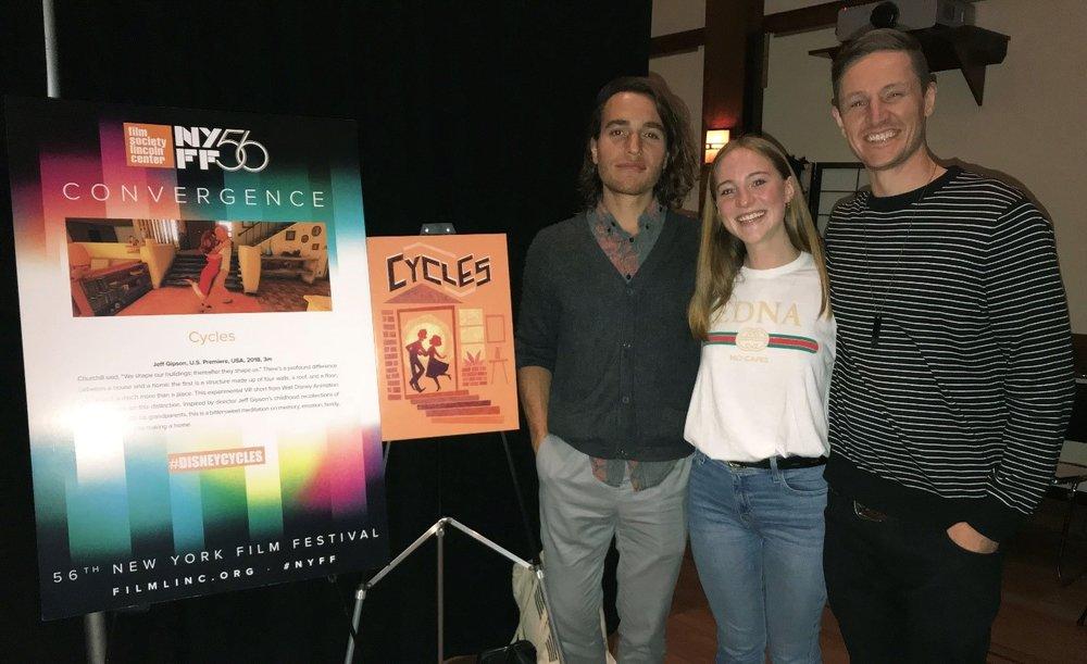 Left to Right: Jorge, Caroline, Jeff