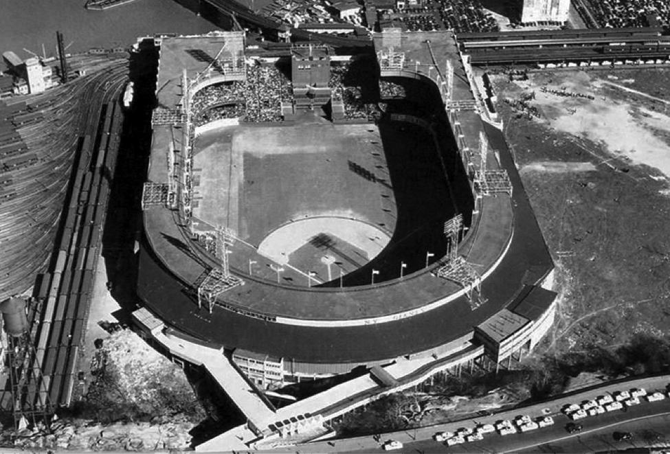 Polo Grounds 1950's