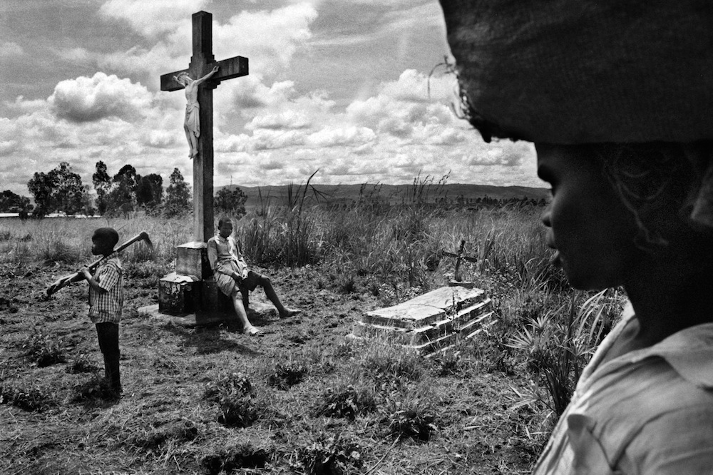 Democratic Republic of Congo. Muzipela cemetery near Bunia, county town of the Ituri district. 2007.  Inquire about this image