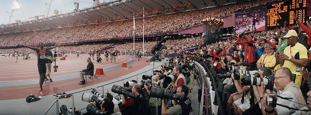 David Rudisha, London 2012 Olympic Games