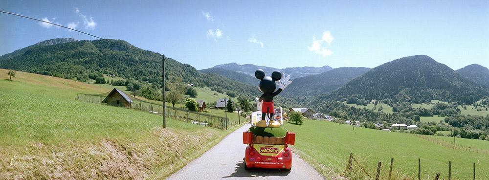 Mickey Mouse, Tour de France 2013