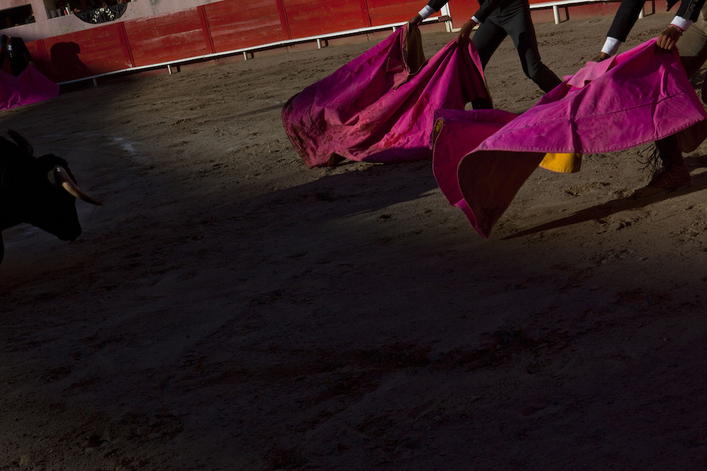 Bullfighting in Juarez, Mexico, 2010.  Inquire about this image