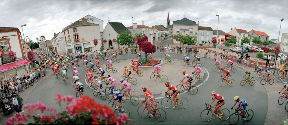France, Saint Macaire en Mauges, Tour de France, 2000
