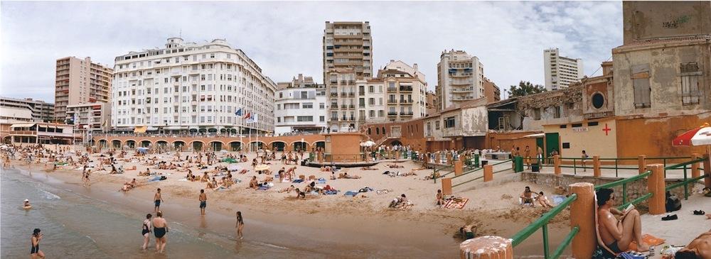 France, Marseille, Plage des Catalans, 1997