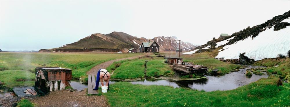 Iceland, Landmanalaugar, Eaux chaudes, 2000