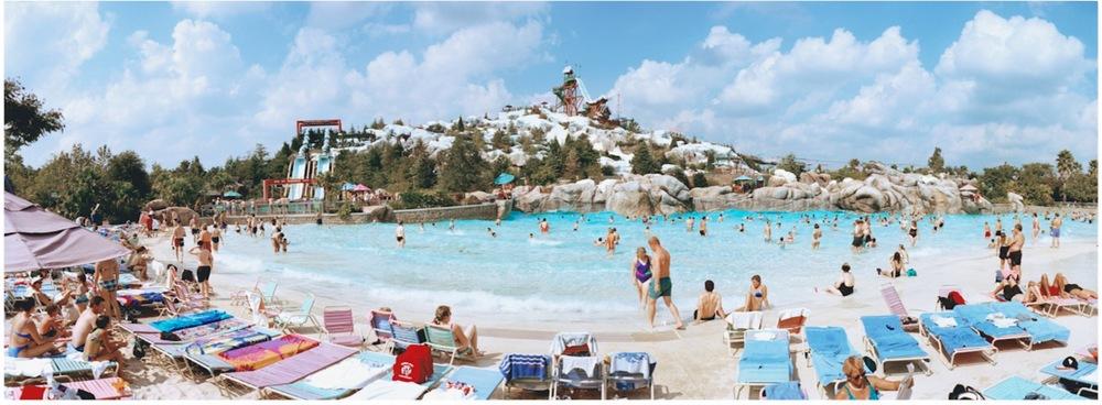 USA, Orlando Florida, Disney's Blizzard Beach Water Park, 2008