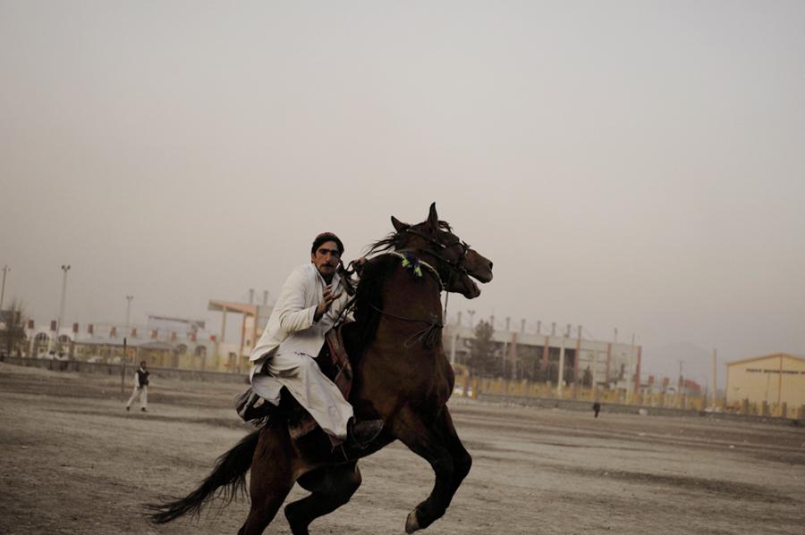 Olympic Stadium, Kabul, Afghanistan, 2010.