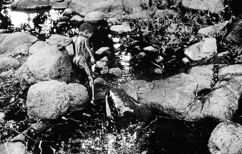 Mountain Stream - Nuba Mts, Sudan, 1994