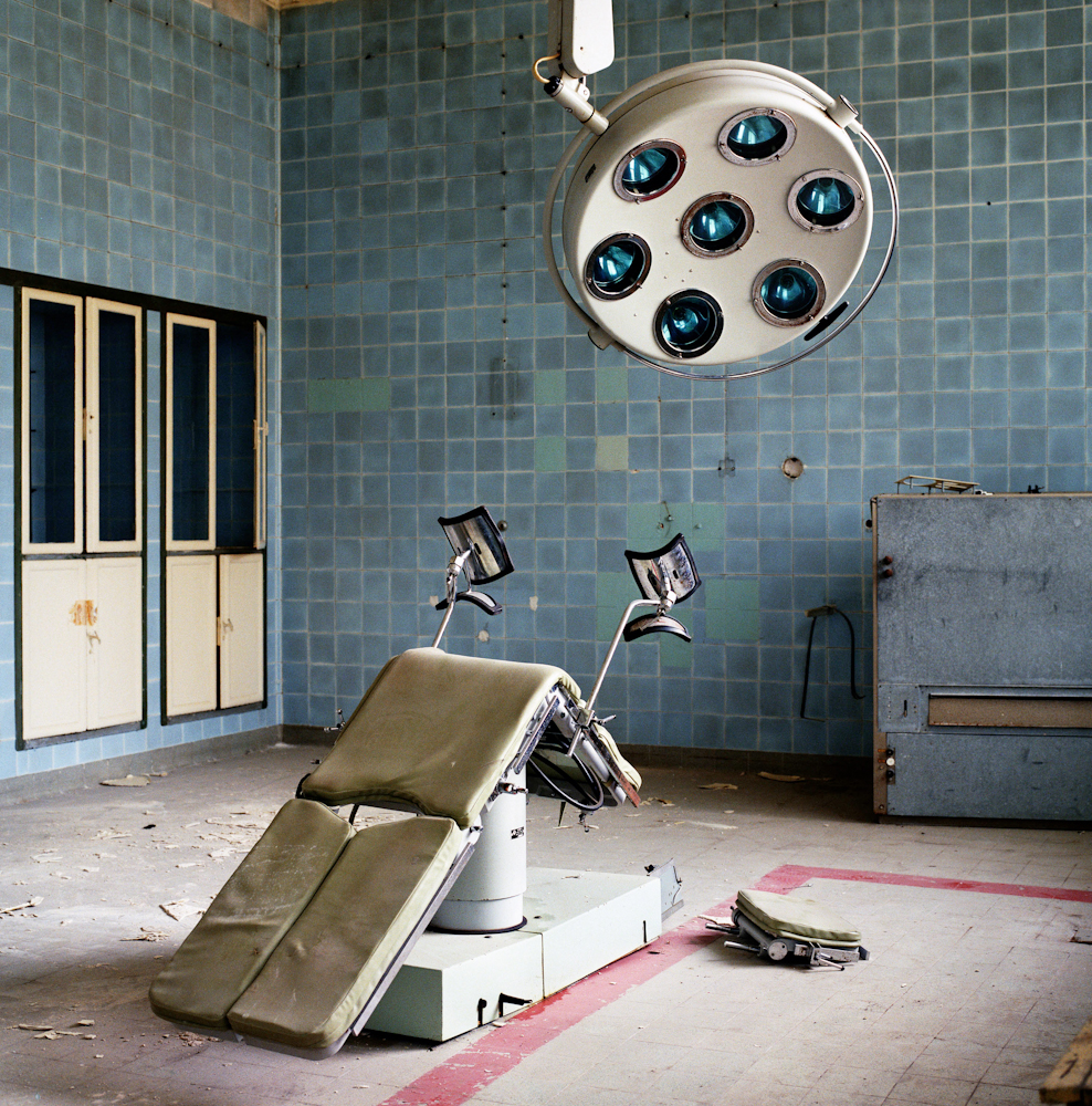 Germany. Soviet Army hospital.