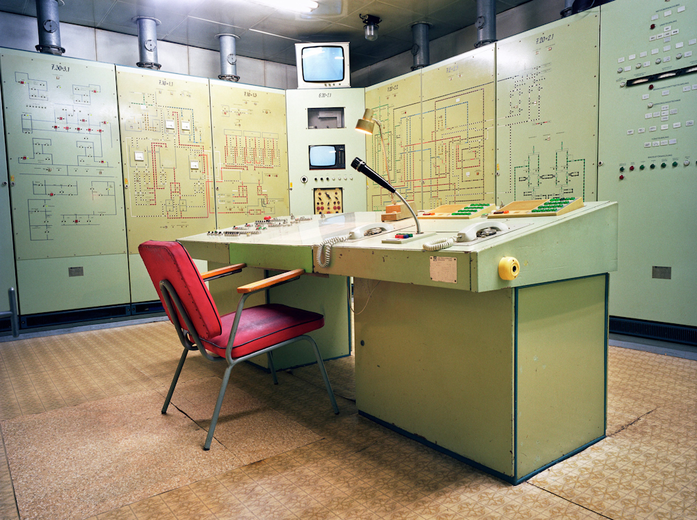 Germany. Underground bunker of the East German Army.