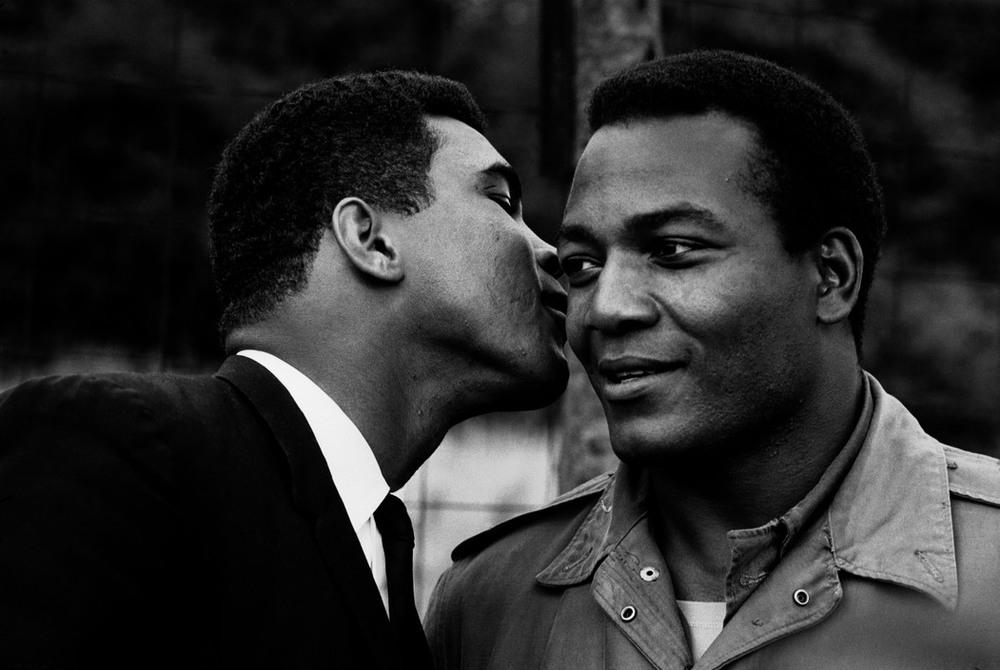 Ali and Jim Brown