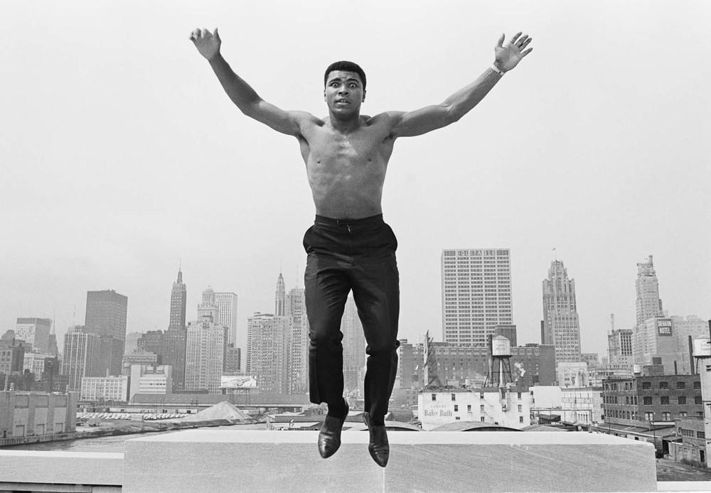 Ali jumping