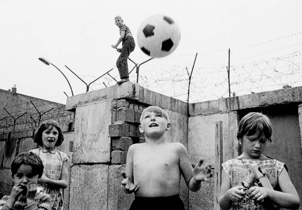Berlin Wall football