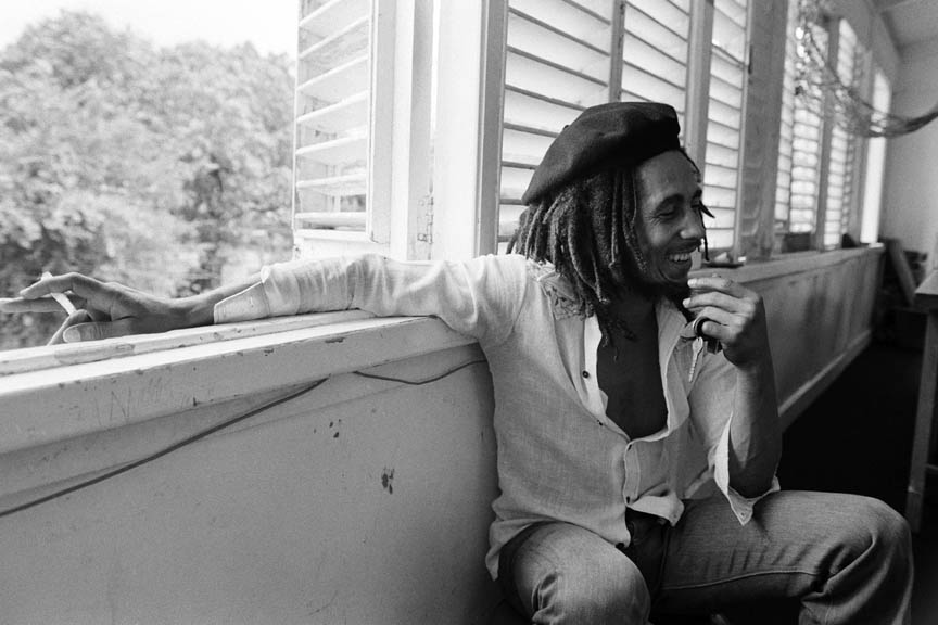 Bob Marley Interview session #2, Kingston, Jamaica, March 1976.  Inquire about this image