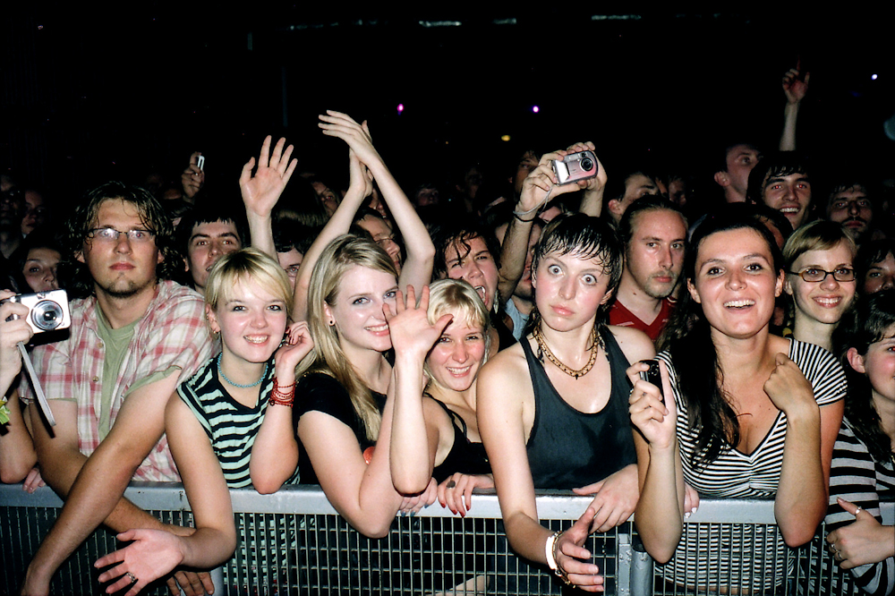 Warsaw Crowd, August 2006