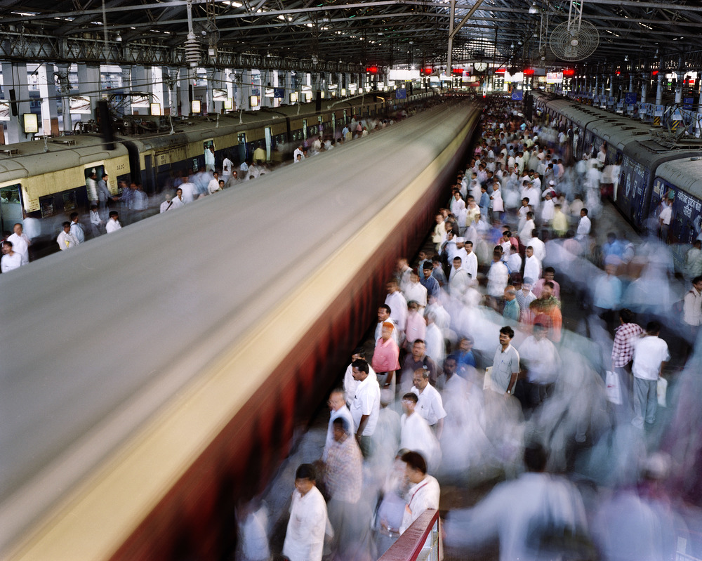 Victoria Station, Mumbai, India, 2007.