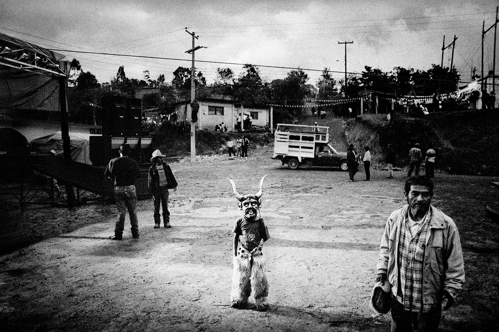 Saint's Day celebration. San Pedro Chayuco, Mexico. 2000.   Inquire about this image