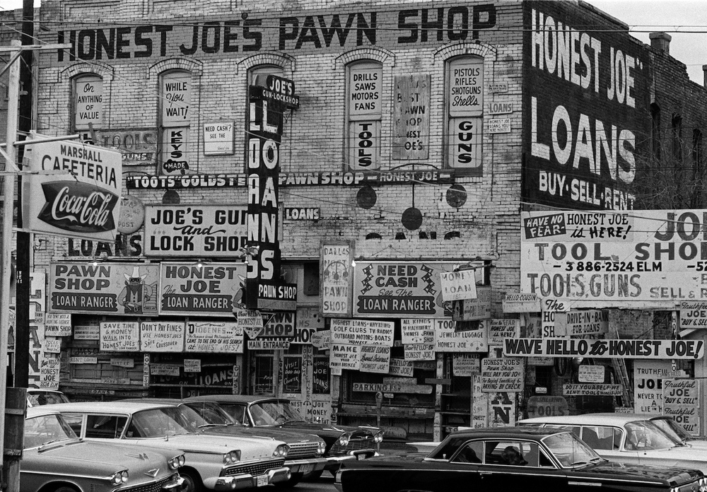 Honest Joe's Pawn Broker's shop.