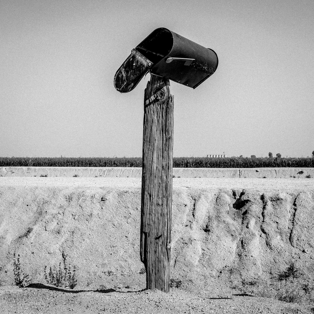 Mailbox. Teviston, CA.  Inquire about this image
