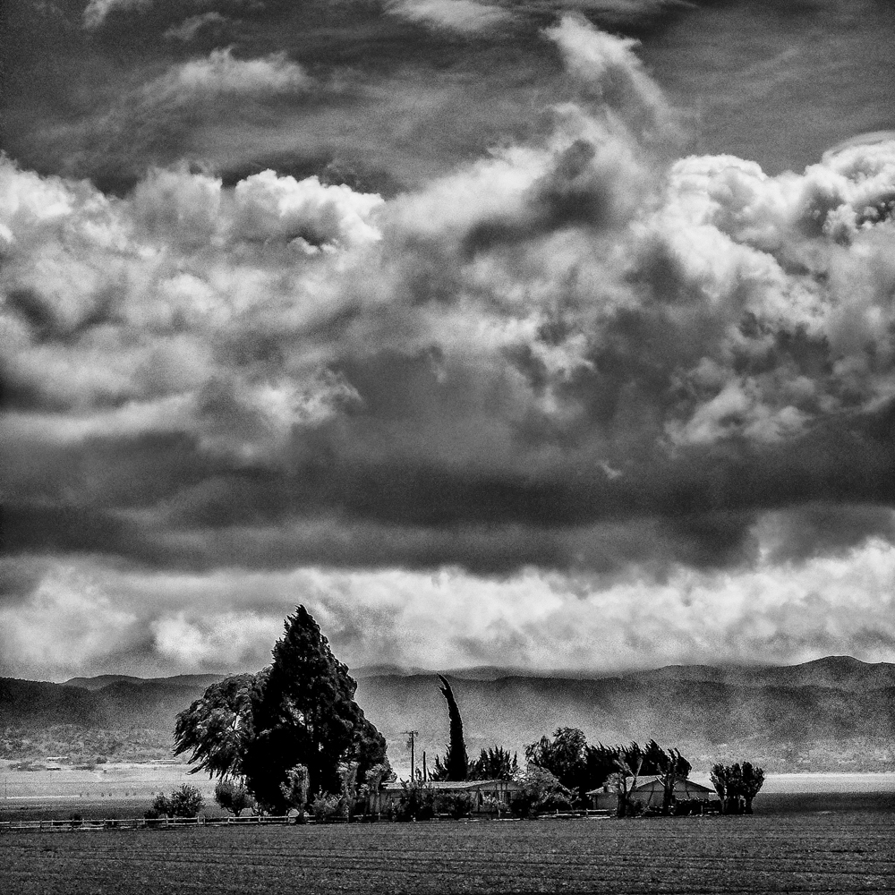 Storm. New Cuyama, CA.  Inquire about this image