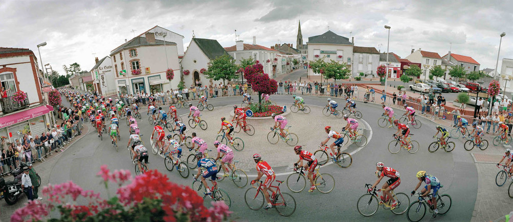 France, Saint Macaire, Tour de France, 2000