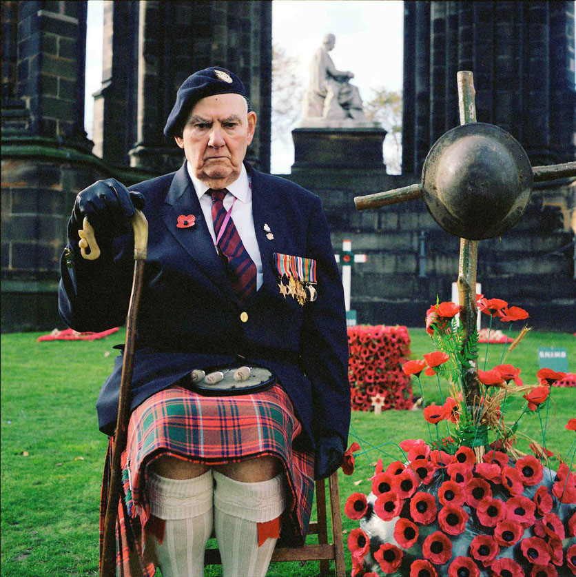 Thomas Louis Gilzean. A WWII Scottish veteran, who fought in Burma as a Chindit, and later in North West Europe  Inquire about this image